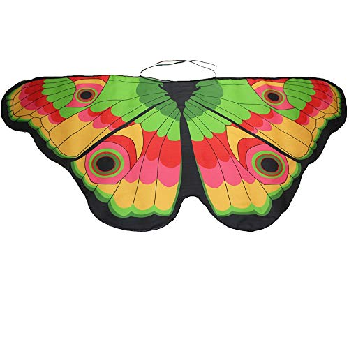 Heatnine Kind Kinder Jungen Mädchen böhmischen Schmetterling Farbe Print Schal Shawl Scarves Pashmina Kostüm Kleider Zubehör Eltern-Kind