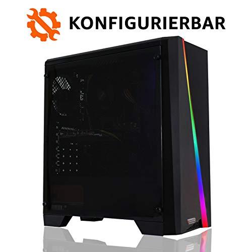 dercomputerladen Gaming PC Intel - wählbar bis Intel i9-9900K, 32GB DDR4-3000, RTX2080Ti, 1TB SSD, 4TB HDD, Win10 Pro, Bundle-Option, Spiele Computer Rechner Konfigurator 3