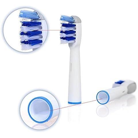 Juego de cabezales para cepillo de dientes eléctrico, compatibles con Braun Oral B TriZone