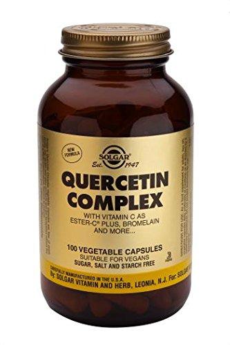 Solgar Quercetin Complex Vegetable Capsules, 100
