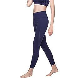 LAPASA Mallas Deportivas de Mujer con Doble Tejido Extra-Transpirable (Leggin de Deporte) L22