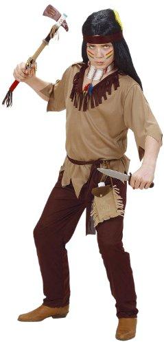 Widmann 02616 - Kinderkostüm Indianer, Coat, Hose, Gürtel und Stirnband, Größe 128 (Indische Kostüme Ideen Für Kinder)
