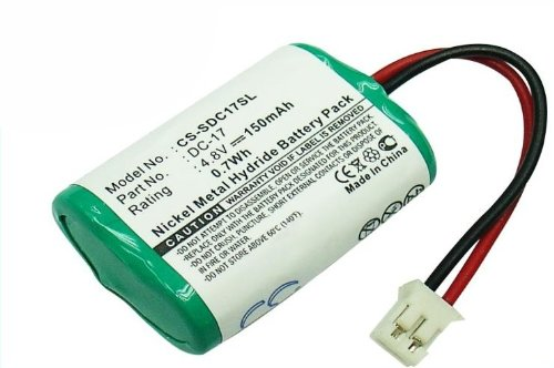CS Akku 150mAh 4.8 V ersetzt Dogtra SDT00-11907 / KINETIC MH120AAAL4GC / SportDog DC-17, 4SN-1/4AAA15H-H-JP1, DC-17_5, MH120AAAL4GC, 650-058 / passend für Dogtra FieldTrainer SD-400, transmitters SD-400S, WetlandHunter SD-400 Camo, / KINETIC MH120AAAL4GC / SportDog Wetlandhunter SD-400 Camo, Field Trainer SD-400S, WetlandHunter SD-800 Camo, Field Trainer SD-400, Wetland Hunter SD-400, Wetland Hunter SD-800, FR200, SD-400, SD-800 (Camo Wetlands)