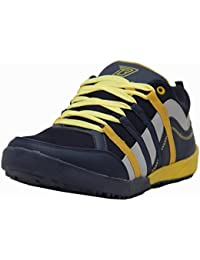 Black Tiger Shoes For Mens Synthetic Leather Casual Shoes And Sneakers 4292-Blue