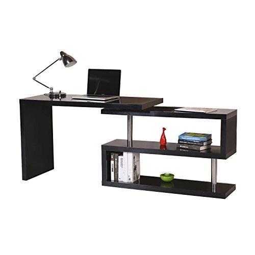 Homcom Computertisch Eckschreibtisch Winkelschreibtisch Schreibtisch  Bürotisch PC Tisch,.