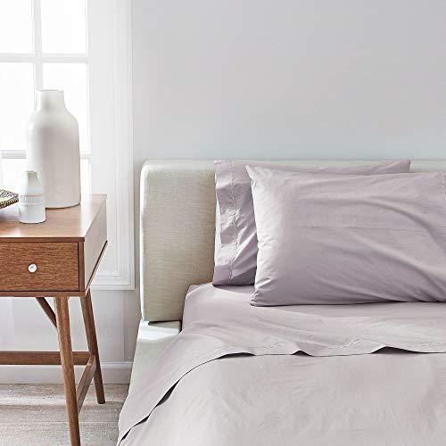 Splendid Home Solid Percale Sheet Set California King Mist -