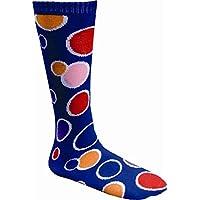 Dress Up America Adult Blue Circle Knee Socks