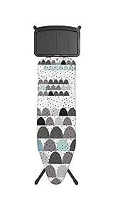 Brabantia - 103506 - Dunes - Table à Repasser - B Acier - 124 x 38 cm - Noir