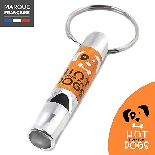 HSFD - Silbato para entrenamiento de perros - Silbato profesional Alta frecuencia audible - Perfecto para educación Larga distancia - Seguro para su perro - Hot Stuff for Dogs
