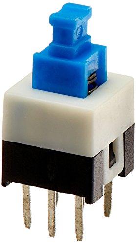 55 6 Pines DPTD Cierre automático Eléctrico Micro Pulsador Interruptores 7mmx7mm
