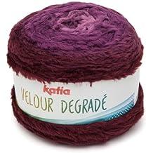 Katia Velour degradé–Color: morados (202)–250g/aprox. 350m lana