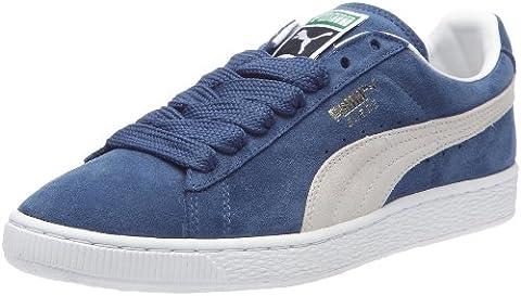 Puma Suede Classic+ Herren Sneakers, Blau (Ensign Blue/Weiß), 37 EU
