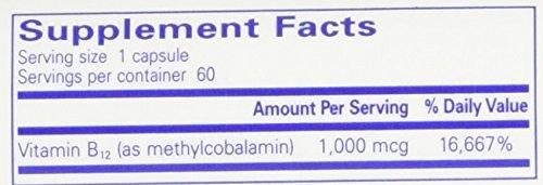 Pure Encapsulations – Methylcobalamin 1000 Mcg 60 Vcaps