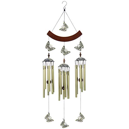 XINXI Home Incredibile Grace Wind Chimes all'aperto, Hanging Wind Chimes con bronzi Tubi per Cortile Garden Decor, Memorial Wind Chimes, 26'