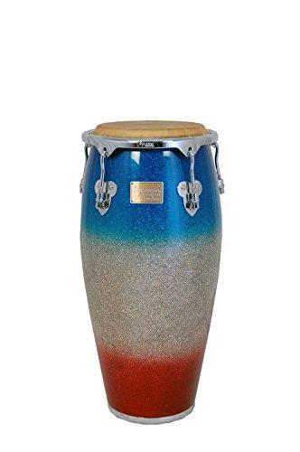 Tycoon Percussion MTCP-110CPF2/S Master Platinum Tri-Fade Serie Quinto Conga mit hölzernem Schallteller, 11Zoll (28cm)