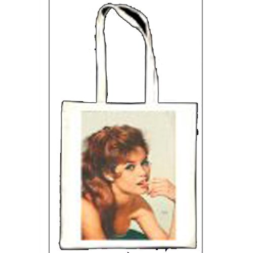 Brigitte Bardot photoplay Oct 1958 totebag