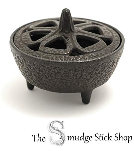 The Smudge Stick Shop - Quemador Incienso Hierro Fundido