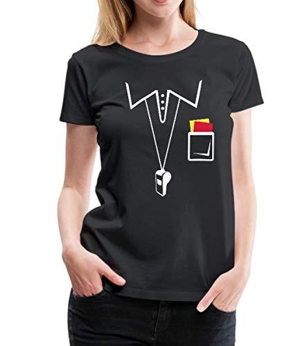 ichter Frauen Premium T-Shirt, M (38), Schwarz ()