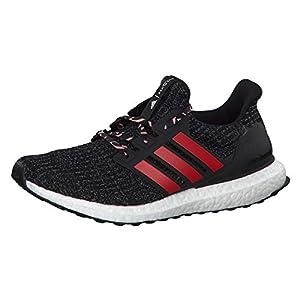 adidas Ultraboost, Zapatillas de Running para Hombre, Mehrfarbig (Core Black/Scarlet/Grey Three F17 F35231), 42 2/3 EU