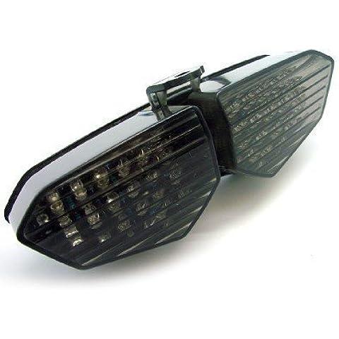 Atpmtas® LED luz de la cola de humo con las señales de vuelta de la luz corriente 2003 2004 2005 Yamaha YZF R6 YZF R6 03 04