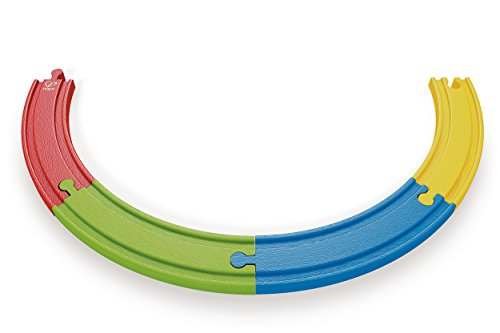 Hape E0302-Regenbogen-Xylophon, Natur-Multi,