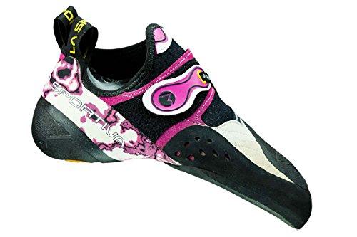 La Sportiva Solution pieds de chat, femme - White/Pink