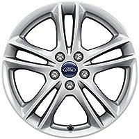 Fiesta White Alloy wheel Inserts 2075092 Genuine Ford KA+