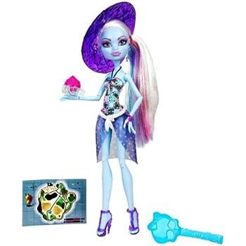 Monster high bch97 poup e tenue plage abbey jeux et jouets - Tenue monster high ...