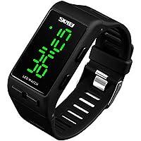 WULIFANG Sport Watch Lady Pu-Armbanduhr Outdoor Repeater Kalender Watch Clock
