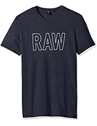 G-STAR RAW Tomeo R T S/S, Camiseta Para Hombre