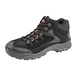 - 41S1Da9e8QL - Dek Ontario Mid-Height Trek & Trail Boots. Synthetic Nubuck/Textile Uppers. TPR Sole
