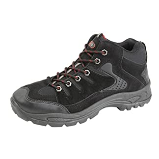 Dek Ontario Mid-Height Trek & Trail Boots. Synthetic Nubuck/Textile Uppers. TPR Sole