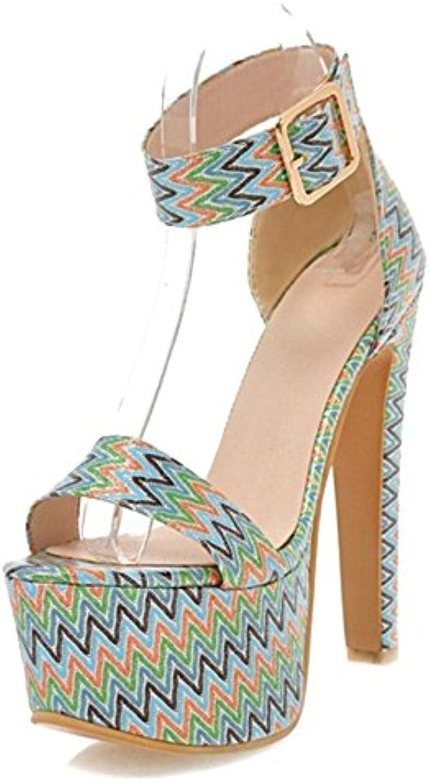 Zapatos de Mujer Sandalias Summer New Rhinestones Open Toe Sandalias de Tacón Alto Zapatos de Tacón de Aguja de... -