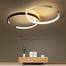 LED Deckenleuchte I CBJKTX Deckenlampe 55cm 40W Dimmbar Mit Fernbedienung  Wohnzimmerlampe Eisen Kronleuchte Kinderzimmer Lampe Esszimmerlampe