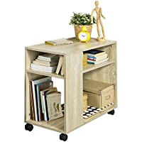 SoBuy FBT34 N, Side Table End Table Coffee Table Lamp Table With Storage  Shelves