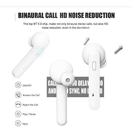 Bluetooth Kopfhörer Sport Earphones Stereo Bluetooth V5.0 In Ear True Wireless Earbuds Over Ear kabellose kopfhörer Ohrhörer HD Sound CVC 6.0 Noise Cancelling Headset mit Mikrofon für iPhone Samsung - 8