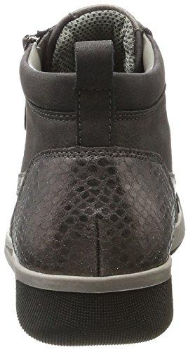 Jenny Seattle, Sneaker a Collo Alto Donna Schwarz (graphit,titan/schlamm)