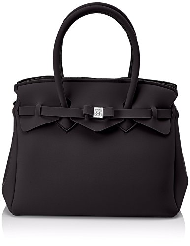 34x29x18 Bag Save Schwarz Miss My cm Damen Henkeltasche 7zxxXTOq4