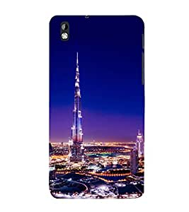 printtech Burj Khalifa Back Case Cover for HTC Desire 816::HTC Desire 816 G
