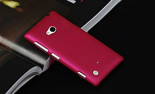 Imagine Rubberised Hard Case Back Cover for NOKIA LUMIA 720 - PINK