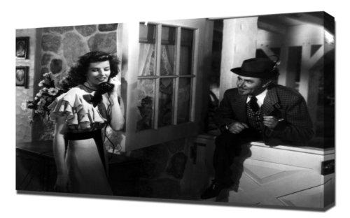 Hepburn, Katharine (Bringing Up Baby)_01 - Leinwandbild - Kunstdrucke -