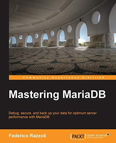 Mastering MariaDB (English Edition)