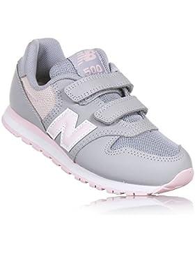 New Balance KV500 kGy Zapatillas de Deporte Gris del Bebé de Color Rosa inconvenientes
