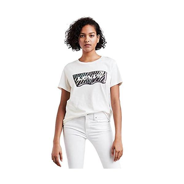 Levi's® Mujeres Camisetas Graphic Boyfriend New Logo