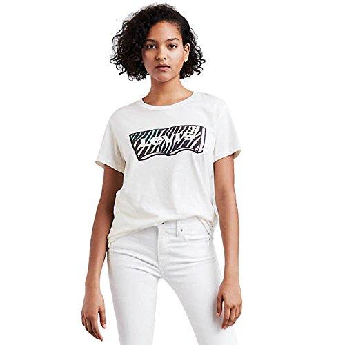 Levi's donna maglieria/t-shirt graphic boyfriend new logo