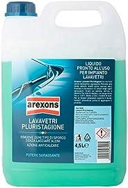 AREXONS LAVAVETRI PLURISTAGIONE -3.5 °C Liquido lavavetri auto 4.5 l liquido tergicristalli pronto all'uso