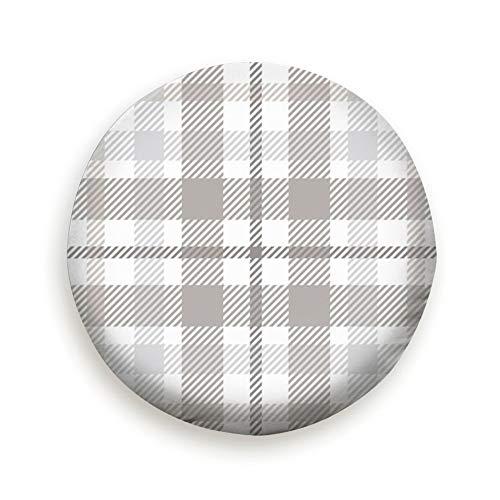 Bidetu Plaid Check Patten Pastel Grey Dusty Fashion Pure Black 14