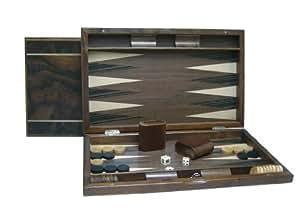 Smir - 32965 - Echecs - Backgammon loupe de noyer 2 filets
