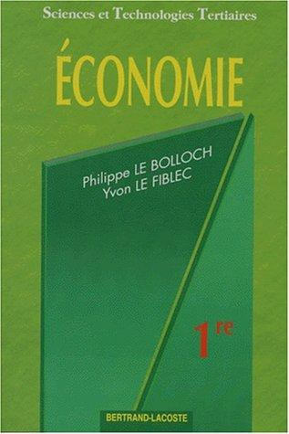 Economie, 1re