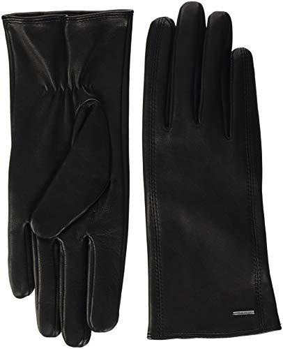 BOSS Damen Handschuhe Gueen, Schwarz (Black 001), 7.5